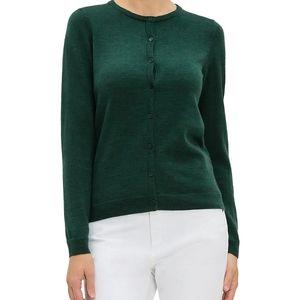 B2G1 Grace Elements Dark Green Knit Cardigan